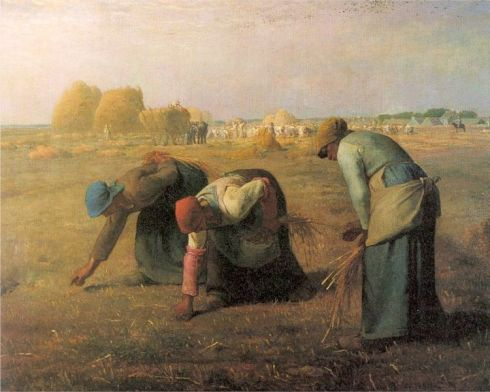 The Gleaners--Jean Francois Millet
